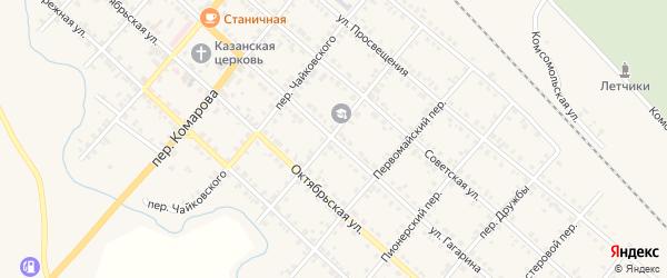 Улица Гагарина на карте Карталы с номерами домов