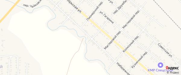 Набережная улица на карте Карталы с номерами домов
