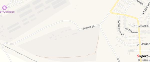 Лесная улица на карте Карталы с номерами домов