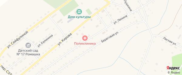 Улица Ленина на карте села Варламово с номерами домов