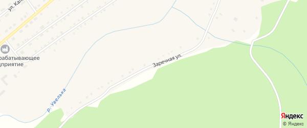 Заречная улица на карте села Варламово с номерами домов