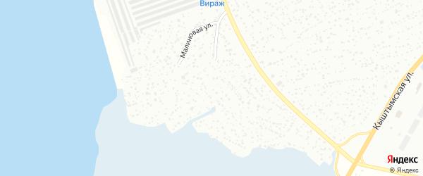Сад Урал на карте Верхнего Уфалея с номерами домов