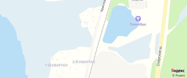 Красноармейская улица на карте Озерска с номерами домов