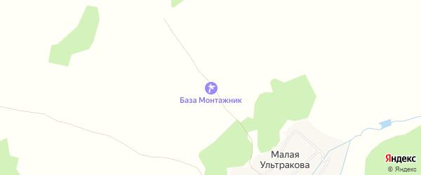 Карта деревни Дербишева в Челябинской области с улицами и номерами домов