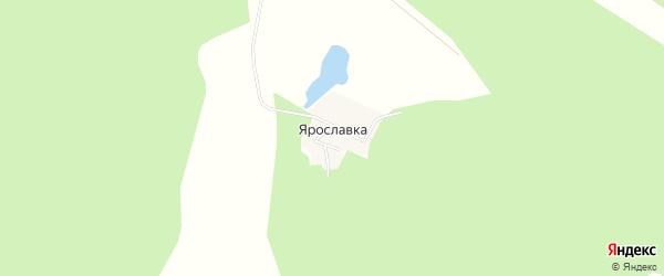 Карта деревни Ярославки в Челябинской области с улицами и номерами домов