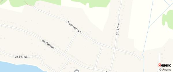 1 Мая улица на карте поселка Воздвиженки с номерами домов