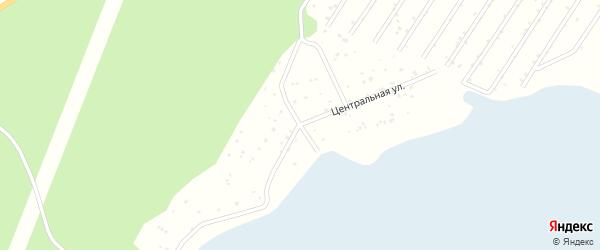 СНТ Фауна на карте Озерска с номерами домов