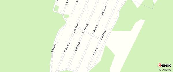 СНТ Осот на карте Озерска с номерами домов
