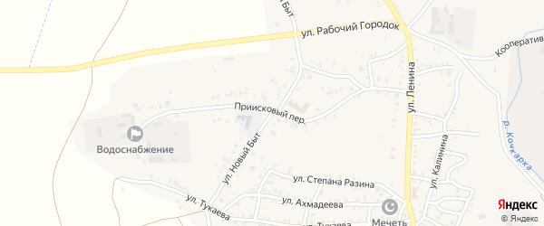 Улица Новый Быт на карте Пласта с номерами домов