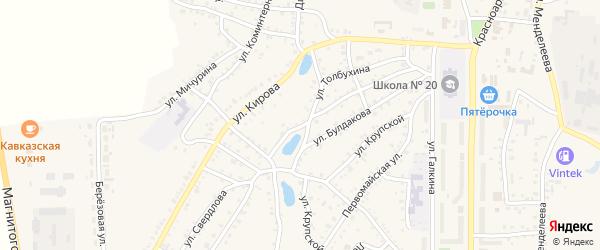 Улица Свердлова на карте Пласта с номерами домов