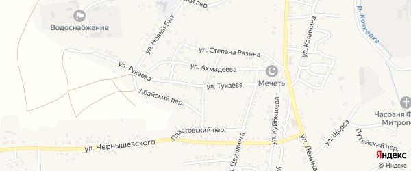 Улица Стальского на карте Пласта с номерами домов