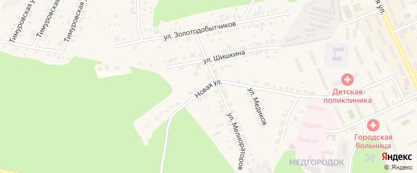 Улица Шишкина на карте Пласта с номерами домов