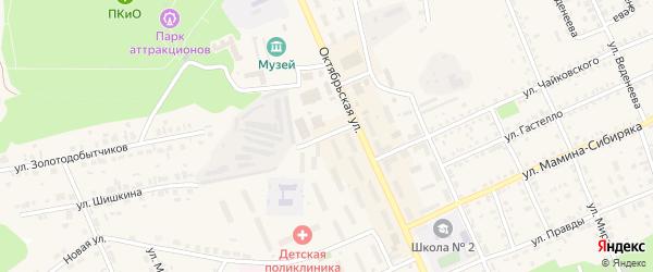 Улица Титова на карте Пласта с номерами домов