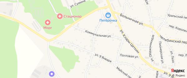 Улица Розы Люксембург на карте Пласта с номерами домов