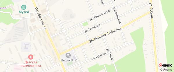 Улица Ватутина на карте Пласта с номерами домов