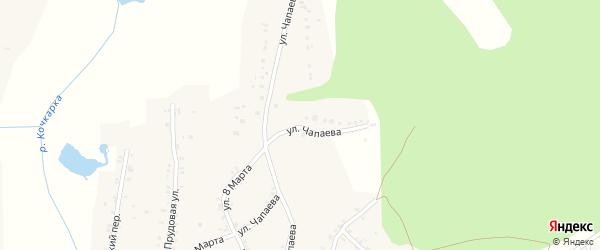Улица Чапаева на карте Пласта с номерами домов