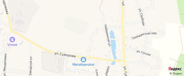 Улица Потемкина на карте Пласта с номерами домов