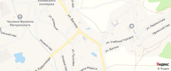 Улица Вагина на карте Пласта с номерами домов