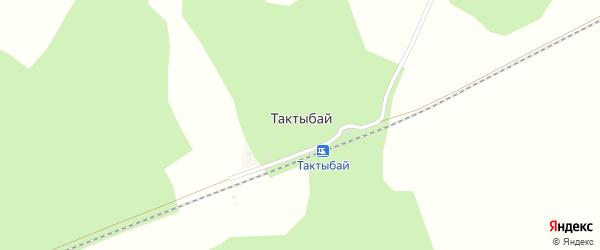 Улица Платформа на карте поселка Тактыбая с номерами домов