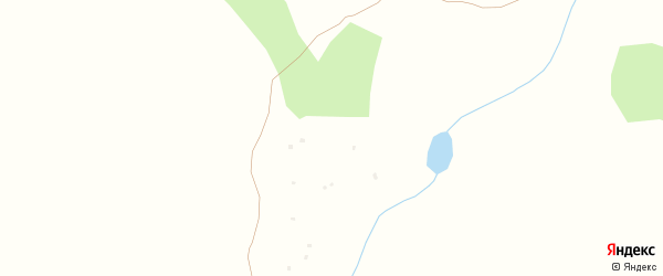 Лесная улица на карте поселка Тактыбая с номерами домов