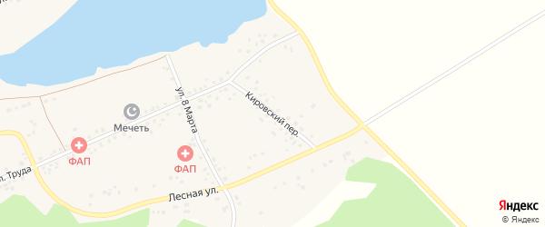 Майская улица на карте деревни Акбашева с номерами домов