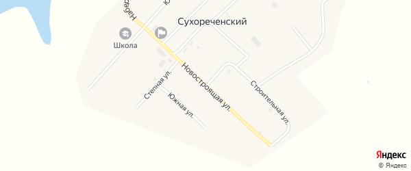 Новая улица на карте Сухореченского поселка с номерами домов
