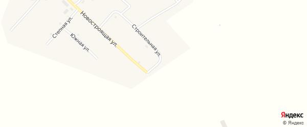 Строительная улица на карте Сухореченского поселка с номерами домов