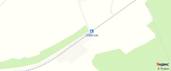 Железнодорожная платформа 2060 км на карте Мирного поселка с номерами домов