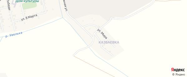 Набережная улица на карте села Коелга с номерами домов