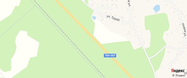 Километр Автодорога Долглдеревенское-Кыштым 33 на карте села Аргаяша с номерами домов