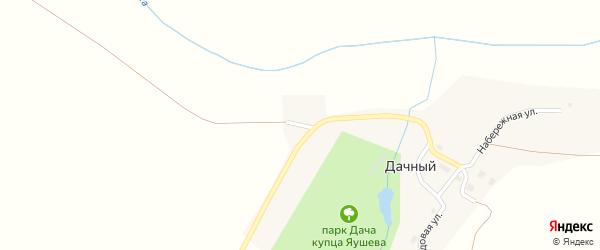 Речная улица на карте Дачного поселка с номерами домов