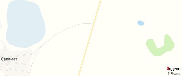 Карта железнодорожной станции Саламата в Челябинской области с улицами и номерами домов
