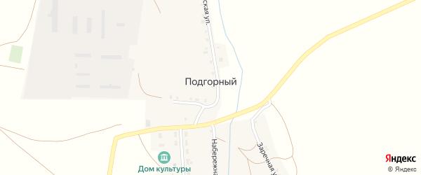 Советская улица на карте Подгорного поселка с номерами домов