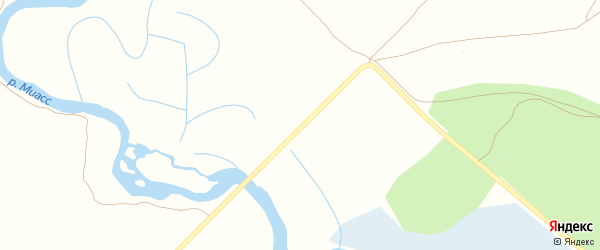 Улица ж/д дома на карте железнодорожного разъезда Полетаево 2-е с номерами домов