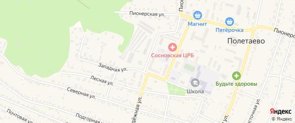 Молодежная улица на карте поселка Смолина ж-д. ст. с номерами домов