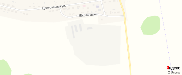 Школьная улица на карте поселка Алтырки с номерами домов