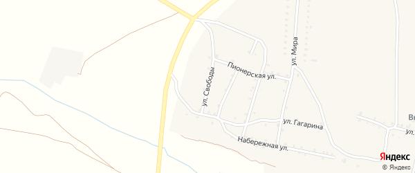 Улица Свободы на карте Красносельского села с номерами домов