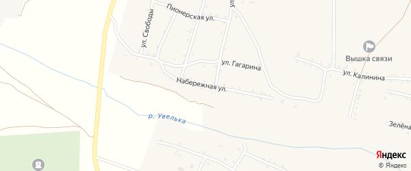 Набережная улица на карте Красносельского села с номерами домов