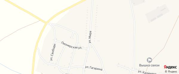 Улица Мира на карте Красносельского села с номерами домов