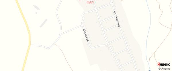 Южная улица на карте Красносельского села с номерами домов