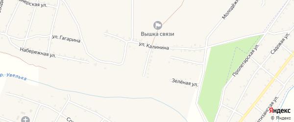 Улица Победы на карте Красносельского села с номерами домов