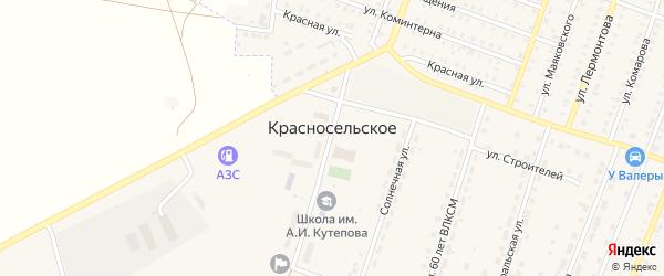 Сад Аграрник СДТ на карте Красносельского села с номерами домов