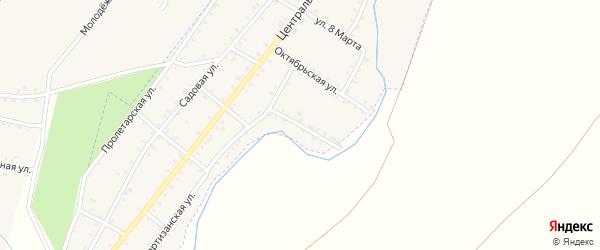 Первомайская улица на карте Красногорского поселка с номерами домов