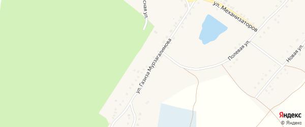 Улица Мурзагалимова на карте деревни Илимбетова с номерами домов