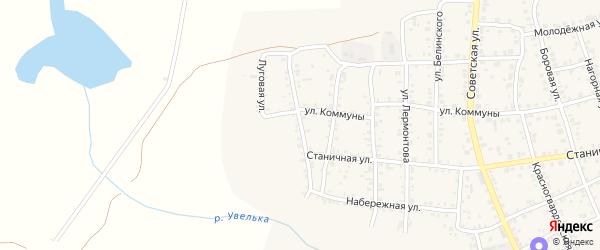 Прудовая улица на карте Южноуральска с номерами домов