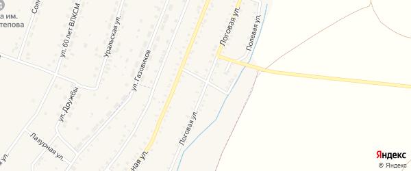 Логовая улица на карте Красносельского села с номерами домов