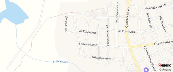 Улица Чехова на карте Южноуральска с номерами домов