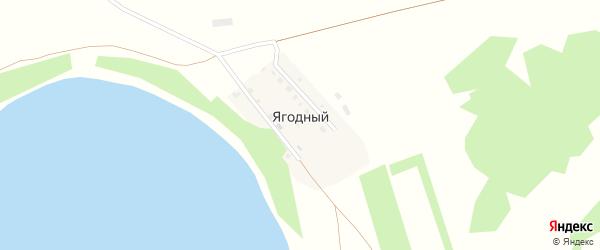 Набережная улица на карте Ягодного поселка с номерами домов