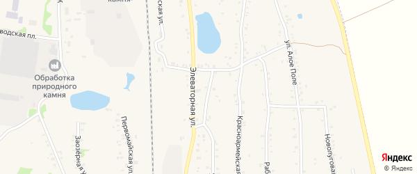 Улица Ленина на карте Зауральского поселка с номерами домов