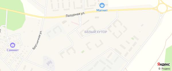 Улица Светлая (мкр Белый хутор) на карте Западного поселка с номерами домов